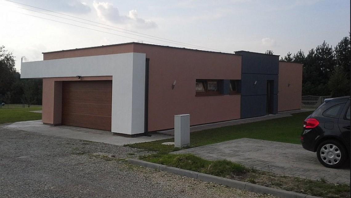 Проект дома в модерновом стиле