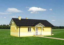 Проект красивого одноэтажного дома - жемчужины дачного участка