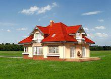 Привлекательный проект небольшого дома