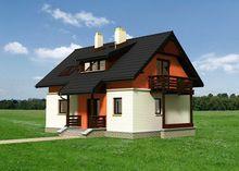 Великолепный дом с мансардным этажом с пятью комнатами