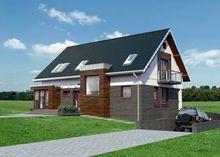Симпатичный и практичный коттедж за городом с зоной для отдыха и площадью около 330 m²