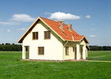 Интересный проект дома с пятью спальнями и пристроенным гаражом