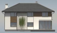 Небольшая классическая двухэтажная усадьба