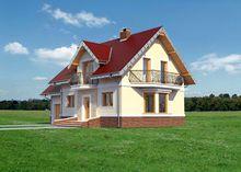 Проект просторного дома для небольшой семьи