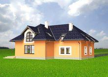 Дом в два этажа с пятью спальнями и тремя санузлами
