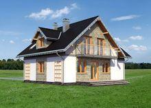 Уютная загородная усадьба с выходом на террасу и мансардным этажом