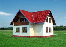 Компактный загородный коттедж для небольшой семьи