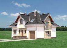 Проект шикарного дома на пять личных комнат