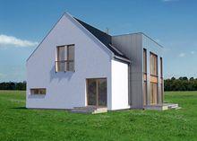 Интересный проект дома с просторными зонами для общего отдыха
