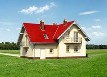 Проект роскошного особняка для загородного участка