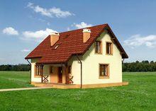 Уютный двухэтажный дом с классическим экстерьером