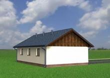 Проект гаража на 2 места с хозяйственным помещением