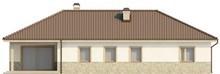 Проект коттеджа с гаражом в скандинавском стиле