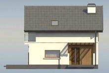 Загородный дом с тремя спальнями на мансардном этаже