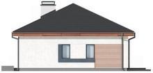 Проект стильного оригинального одноэтажного классического дома