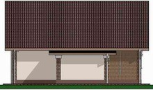 Проект для строительства уютного домика 70 m²