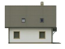 Проект стильного экономичного коттеджа с жилой мансардой