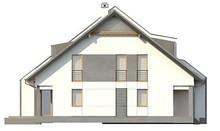 Дом на две семьи с гаражом в каждой половине