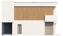 Проект двухэтажного коттеджа с кабинетом и гаражом