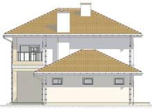 Проект великолепного дома с четырьмя спальнями