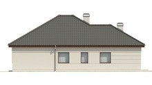 Проект стильного коттеджа площадью 155 кв. м с террасой