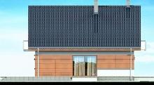 Стильный жилой дом с красивыми балконами