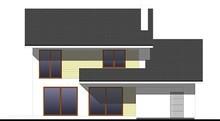 Привлекательный двухэтажный коттедж со встроенным гаражом