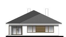 Одноэтажный просторный дом с гаражом на 2 авто