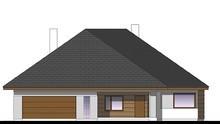 Стильный жилой дом под крышей шале