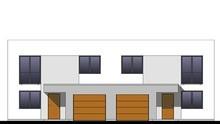 Удобный жилой дом на две большие семьи