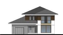 Симпатичный дом в два этажа площадью 150 м2