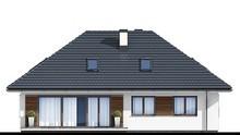 Одноэтажный жилой дом с тремя спальнями м чердаком