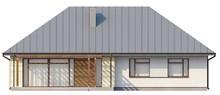 Проект дома с тремя спальнями с чердаком