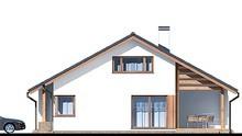 Двухэтажный особняк с красивым декором