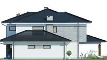 Современный стильный дом с красивой гостиной