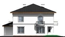 Классический загородный двухэтажный особняк