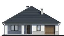 Жилой дом с гаражом жилой площадью 65 квадратов