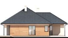 Проект одноэтажного жилого дома с двумя спальнями