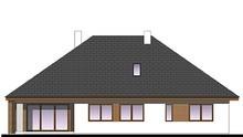 Стильный одноэтажный дом с четырьмя спальнями