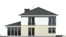 Проект живописного двухэтажного особняка с четырьмя спальнями