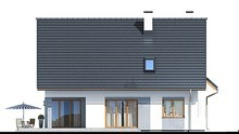 Восхитительный дом с мансардой и гаражом на две машины