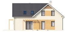 Загородный дом со светлым фасадом