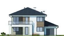 Роскошный дом на 2 этажа с уютной открытой террасой