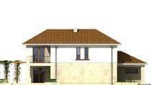 Проект дома с гаражом и 5 спальнями