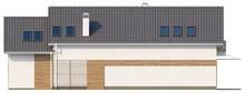 Дом с эркером и мансардой - проект для узкого участка