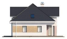 Проект стильного 1,5-этажного дома с гаражом для двух автомобилей