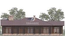 Проект дома площадью 168 кв. м в духе американских прерий