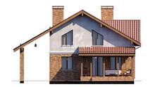 Проект двухэтажного дома площадью 158 кв. м с четырьмя спальнями