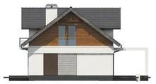 Большой коттедж с мансардой и удобными балконами