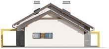 Проект одноэтажного дома с 3 большими спальнями и гаражом